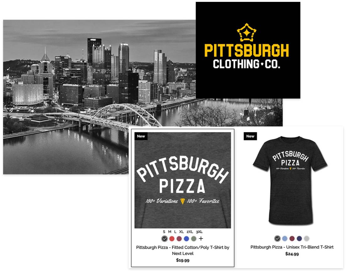 Pittsburgh Clothing